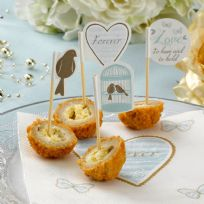 To Have And To Hold Canapé / Cupcake Picks (20)